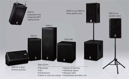 Available Speaker Options