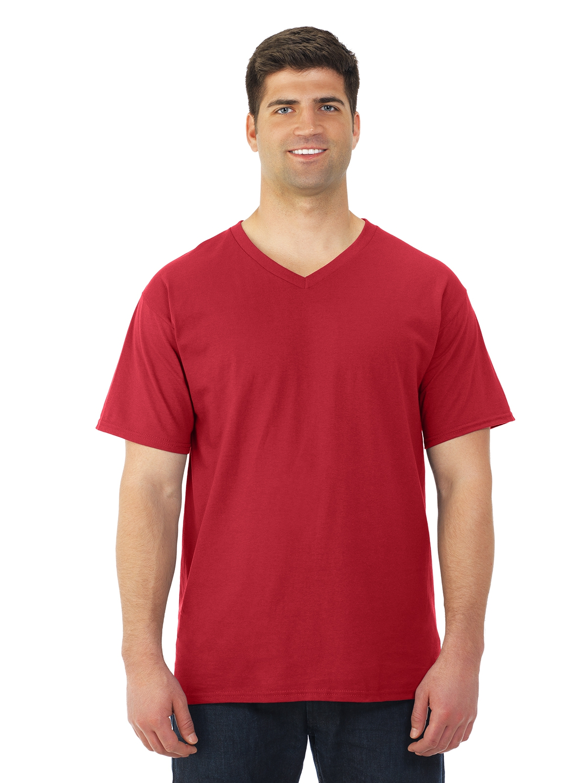 Fruit of the Loom 39VR HD Cotton™ V-Neck T-Shirt