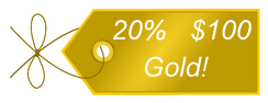 Take an additional 20% Off With Coupon Code GOLD