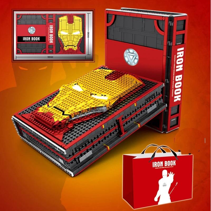 Custom Iron Book Memorial Hall Of Armor With Minifigures Building Blocks Toy Set 2615 Pieces