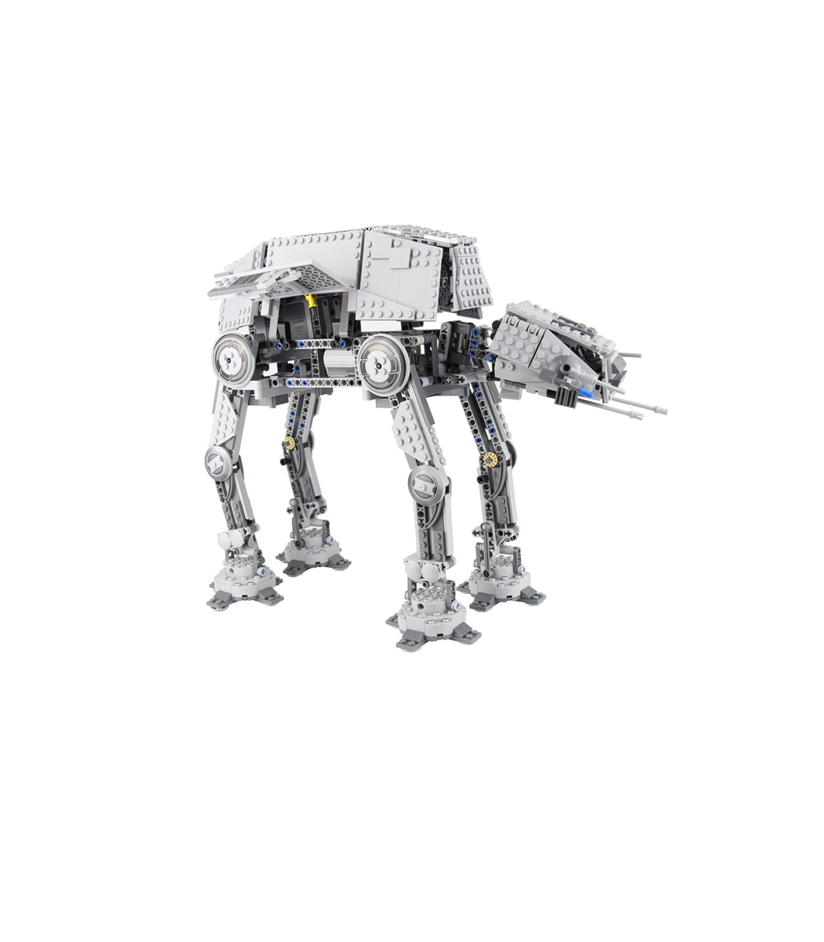 Custom Motorised Walking AT-AT Star Wars Compatible Building Bricks Toy Set 1137 Pieces
