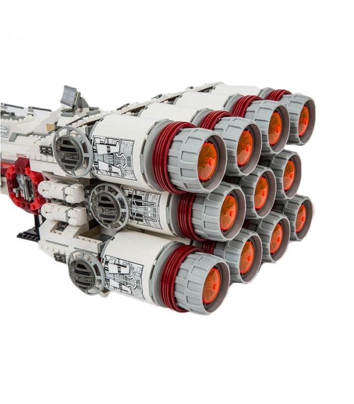 Custom Rebel Blockade Runner Star Wars Compatible Building Bricks Toy Set 1748 Pieces