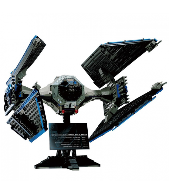 Custom Star Wars TIE Interceptor Building Bricks Toy Set