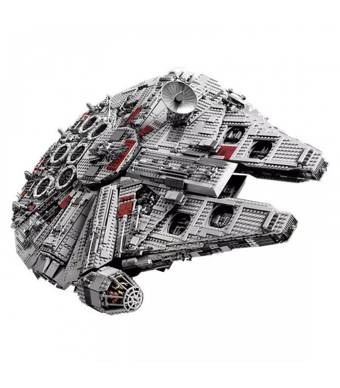 Custom Star Wars UCS Millennium Falcon Compatible Building Bricks Toy Set 5265 Pieces