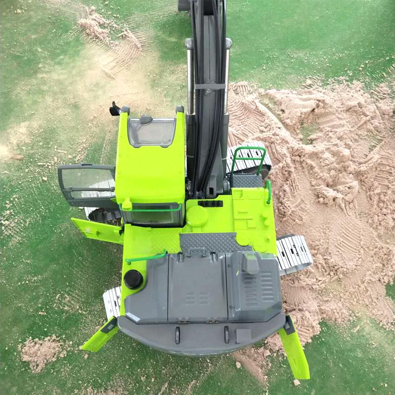Full Metal RC Hydraulic Excavator Volvo EC160E Crawler Excavator 1/14 Scale Mode