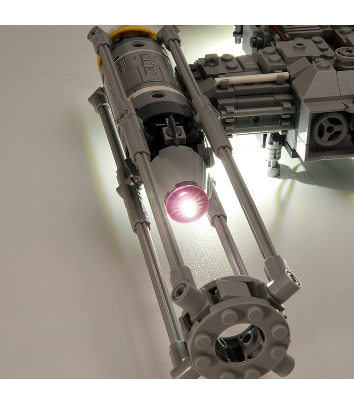 Light Kit For Star Wars Y-Wing Starfighter LED Lighting Set 75172