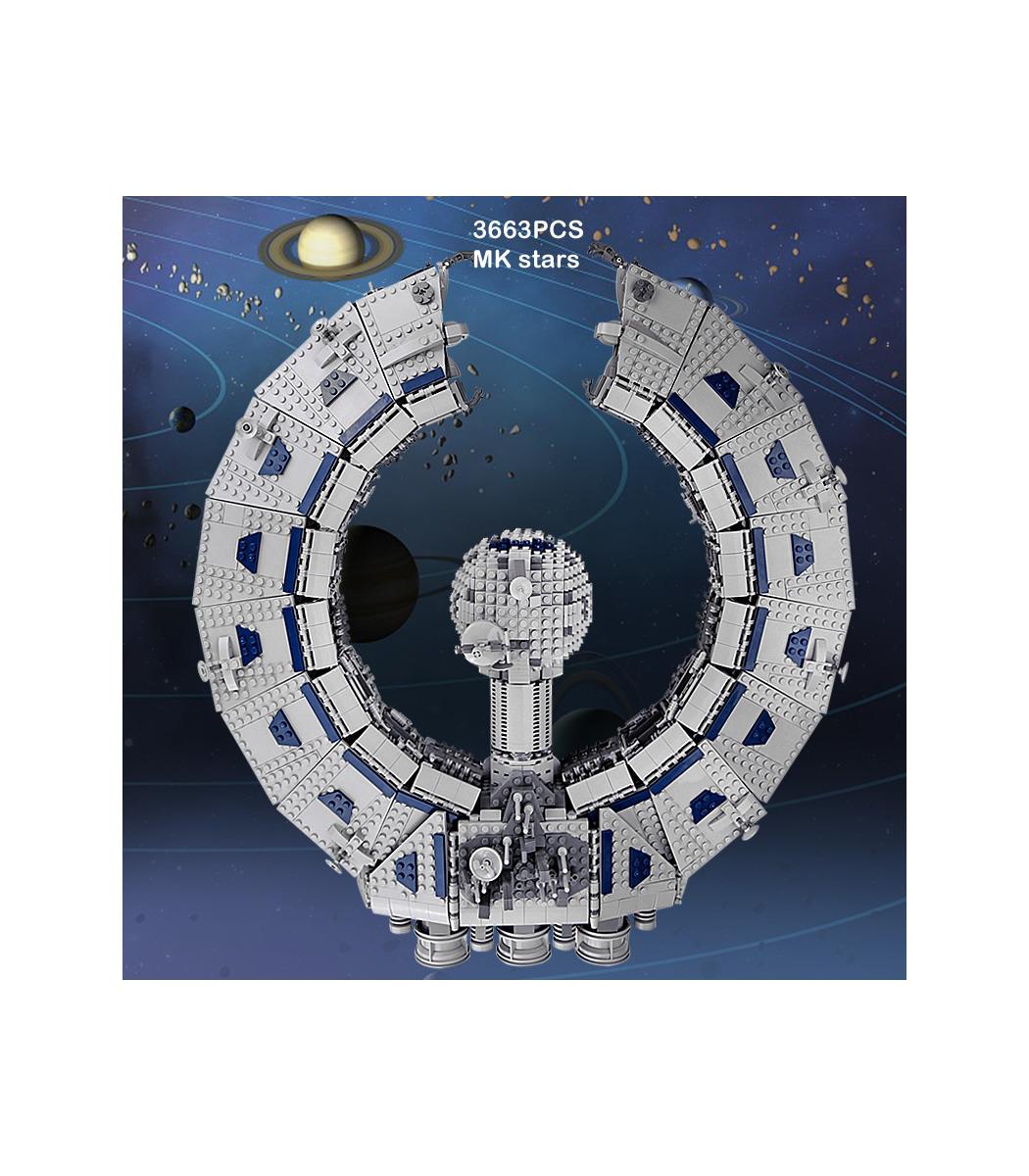 MOULD KING 21008 Lucrehulk Battleship Droid Control Ship Building Blocks Toy Set