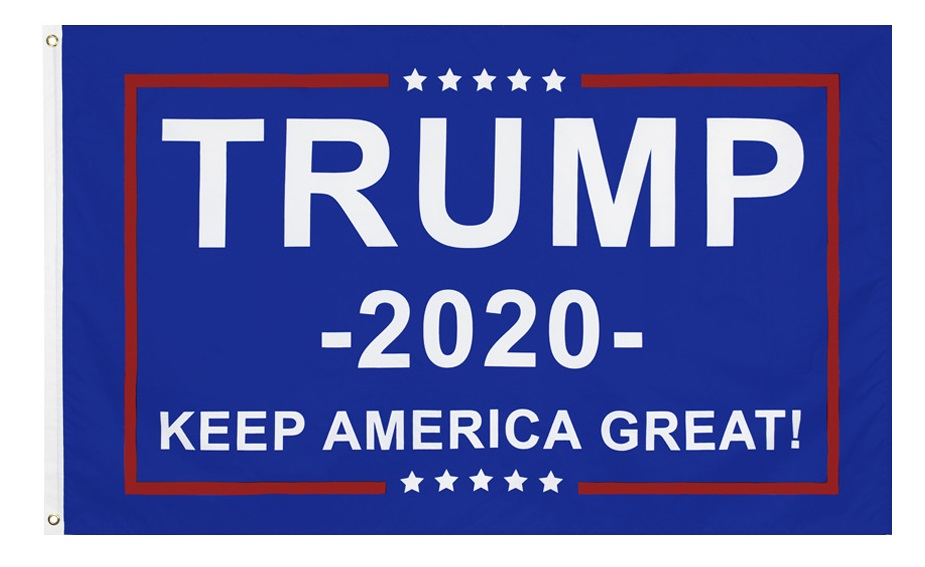 2020 Keep America Great President Donald Trump Flag USA Polyester 3X5ft