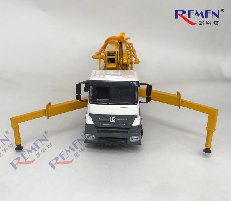 1:50 Scale Diecast 5441THB CONCRETE PUMP Scale Model, 52m Concrete Pump Truck models for gift, collection Die-cast Scale Model.