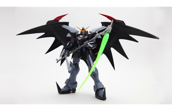 Bandai Gundam Gunpla MG Plastic Scale Model Kit EW XXXG-01D2 Deathscythe Hell.