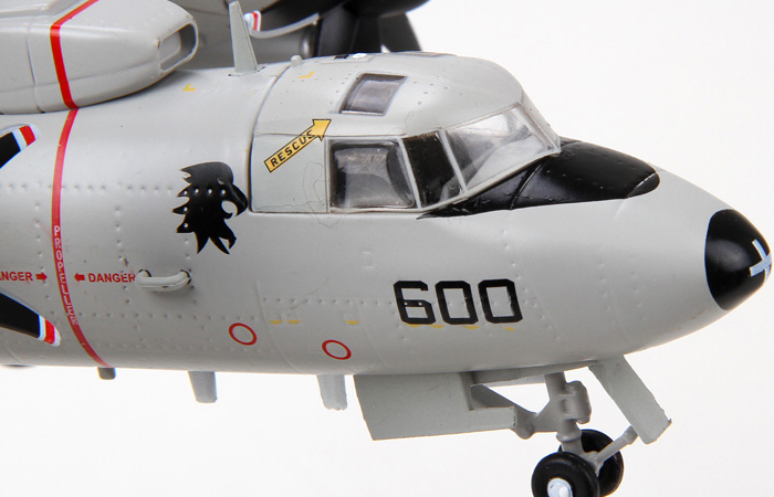 1/72 Scale Modern Military Model, US Navy Hawkeye E-2C Airborne Early Warning Diecast Model.