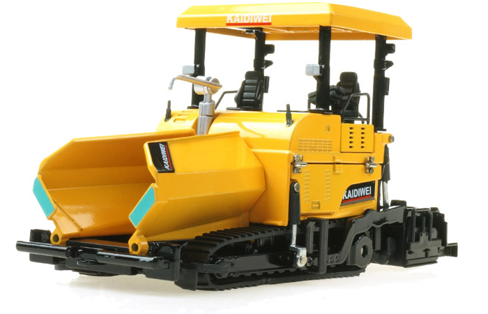 1/40 Scale Model Paver, Engineering Machinery Diecast Model, Engineering Toy.