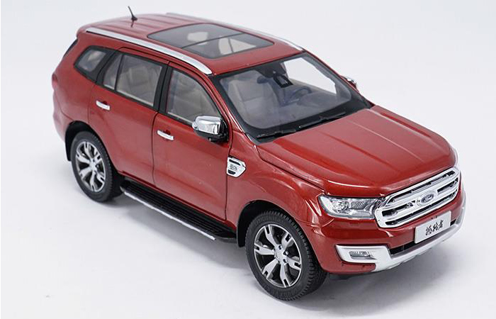1:18 Scale Ford Everest Diecast Model Car, Gifts, toys, collectibles, Display, Static Model, Zinc Alloy Model.