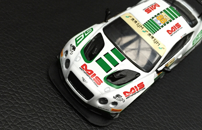 SPARK MODELS Y103 BENTLEY Continental GT3 N� Macau GP FIA GT World Cup 2015.