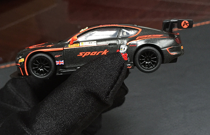 SPARK MODELS Y104 BENTLEY Continental GT3 N�Macau GP FIA GT World Cup 2015.
