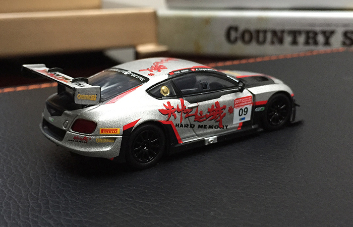 SPARK MODELS Y106 BENTLEY Continental GT3 N� China GT Championship 2017.