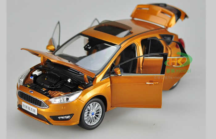 1/18 Scale Model FORD 2015 New FOCUS Original Diecast Model Car, Gifts, toys, collectibles, Display Model, Static Model, Metal model car.