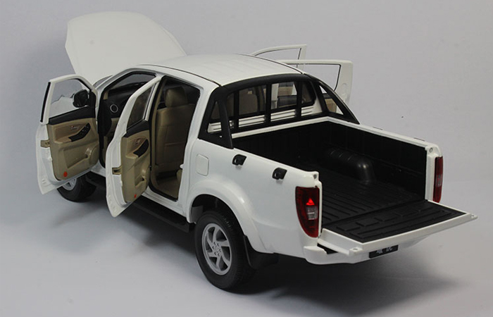 1/18 Scale Model Car Truck, JMC Pickup Zinc Alloy Diecast Model.