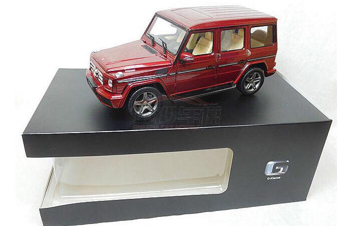 1/18 Scale Model Car, Mercedes-Benz G500 G-Klasse Zinc Alloy Diecast Model.