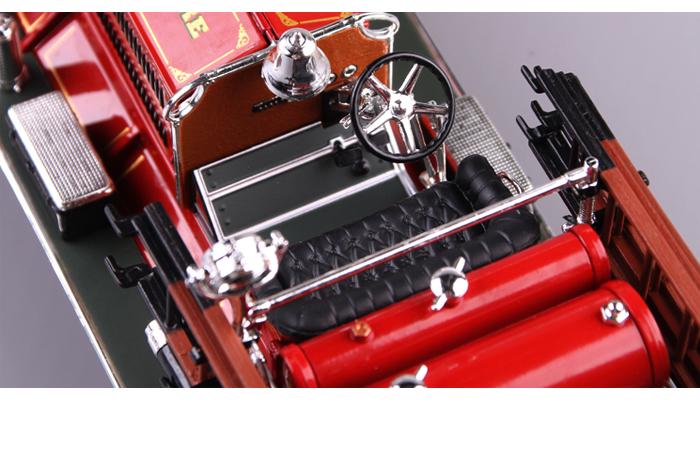 1/24 Scale Truck Diecast Model Lucky-Diecast 20108, 1925 AHRENS-FOX N-S-4 FIRE TRUCK.