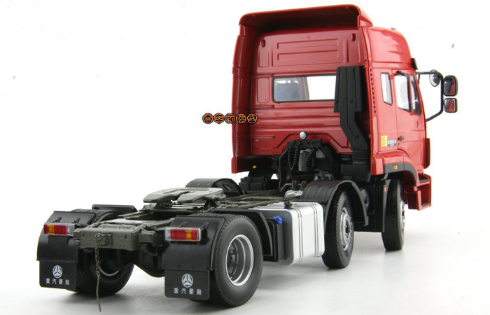 1/24 Scale Model China National Heavy Duty Truck HoHan Tractor Truck Diecast Model, Truck Scale Model, Truck Toy, Tractor Truck Model.