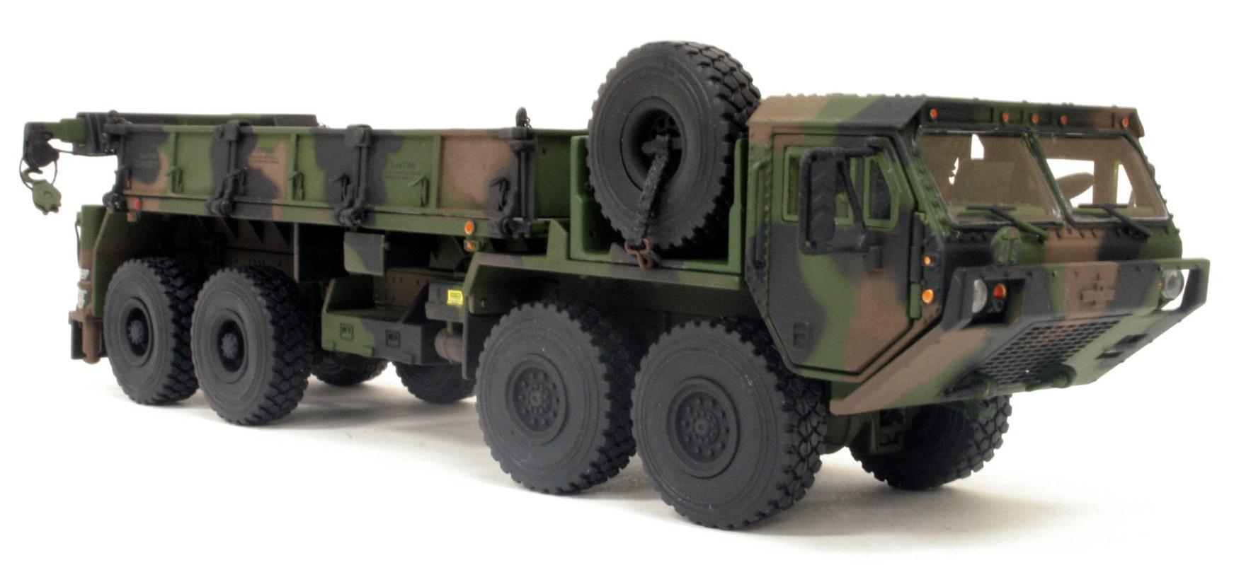 1/50 Scale Military Transport Camo TWH Oshkosh HEMTT M985 A2 Cargo Truck Diecast Model.