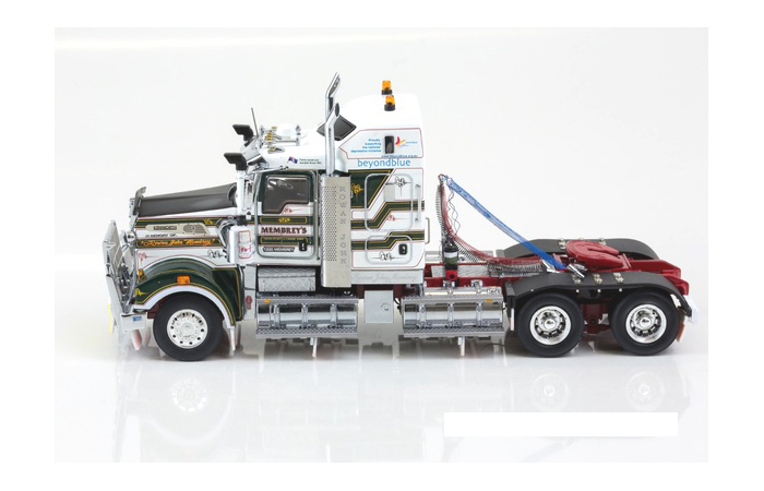 Drake Z01370 1/50 Scale Model. Kenworth T909 Tractor Diecast Model Truck Model.