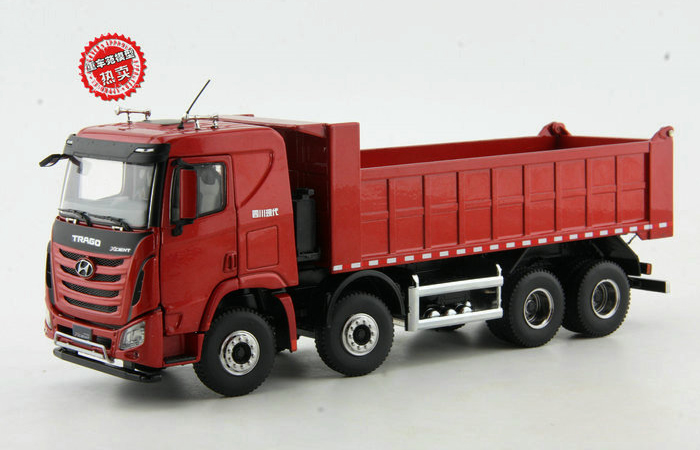 1/36 Scale Model Hyundai Trago Xcient Dump Truck Diecast Model, Truck Scale Model, Truck Toy, Dump Truck Model, tipper dumper truck toy.