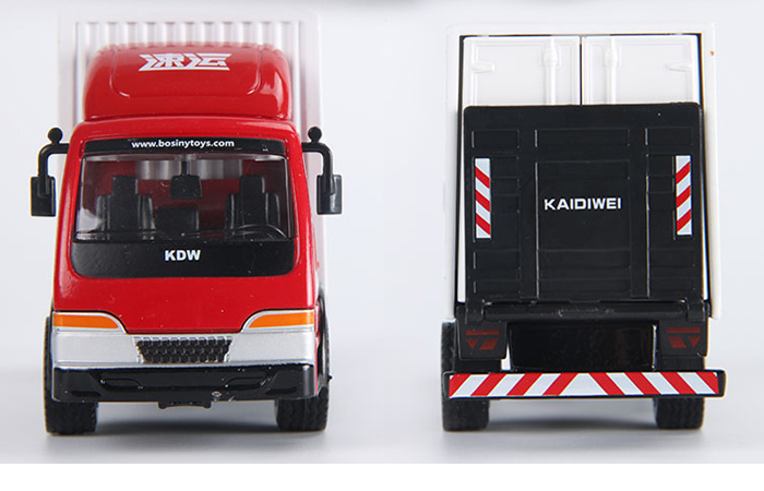 1/50 Scale Van Truck Diecast Model, Toy Truck.