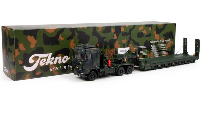 TEKNO 65843 1/50 Scale Model Daf Tropco 650KN Diecast Model Online Hobby Store.