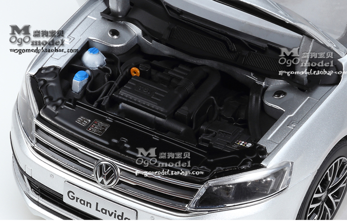 1/18 Scale Model Volkswagen Gran Lavida 2015 Original Diecast Model Car, metal Scale model car, Gifts, toys, collectibles, Display Model, Static Model.