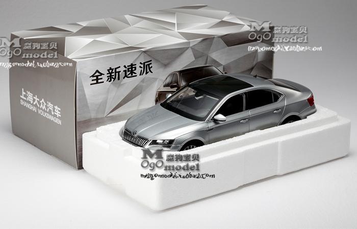 1/18 Scale Model Volkswagen SKODA NEW SUPERB Original Diecast Model Car, metal Scale model car, Gifts, toys, collectibles, Display Model, Static Model.