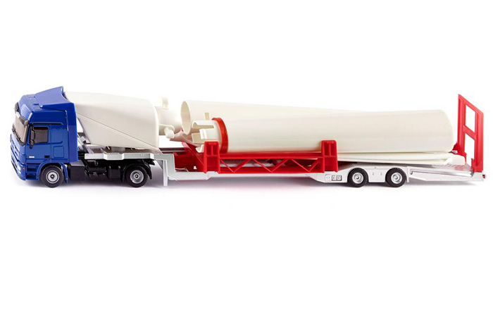 1/50 Scale Model, Siku 3935 Truck With Wind Turbine Diecast Scale Model.