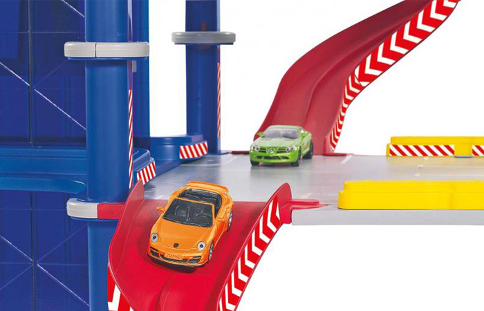 Siku 5505 Car Park Toy, Garage parking toy, parking play set.