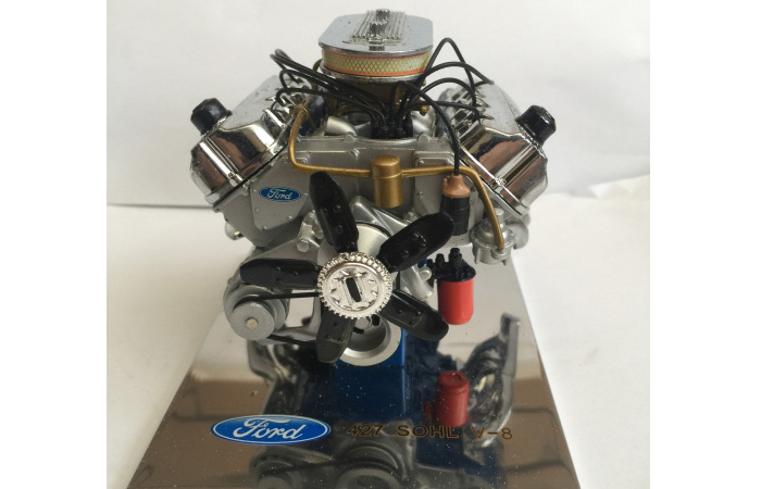 1/6 Motor Die-Cast Scale Model, Ford 427 Sohc V-8 Engine Display Diecast Scale Model.