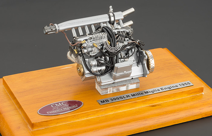 1/18 Scale CMC M-120 MB 300SLR Mille Miglia Engine 1955 Die-Cast Scale Model.