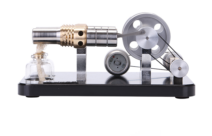 Engine Model, Four-Cylinder Stirling Engine With Generator, Fun toys, Educational toys.