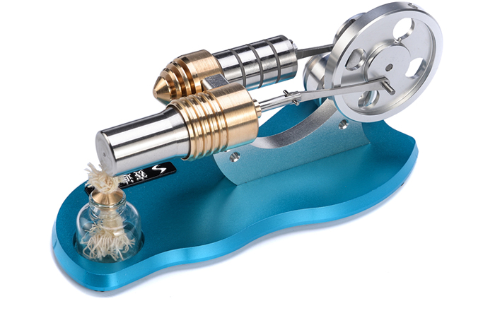 Engine Model, Stirling Engine With Generator, Fun toys, Educational toys.