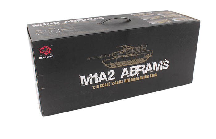 HengLong RC Tanks 3918-1 American MBT M1A2 ABRAMS Military Vehicles Scale model