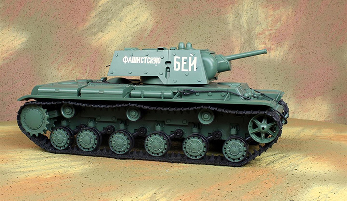 HENG-LONG Toys RC Tank 3878, World War IIRUSSIA Soviet KV-1'S Tank 1/16 Scale Model Remote control Tank, Airsoft tank, military vehicles, radio control battle tank.