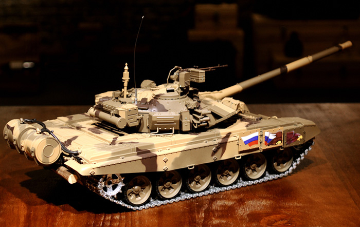 HENG-LONG Toys RC Tank 3938 Russia T90 Main Battle Tank 1/16 Scale Model Tank.