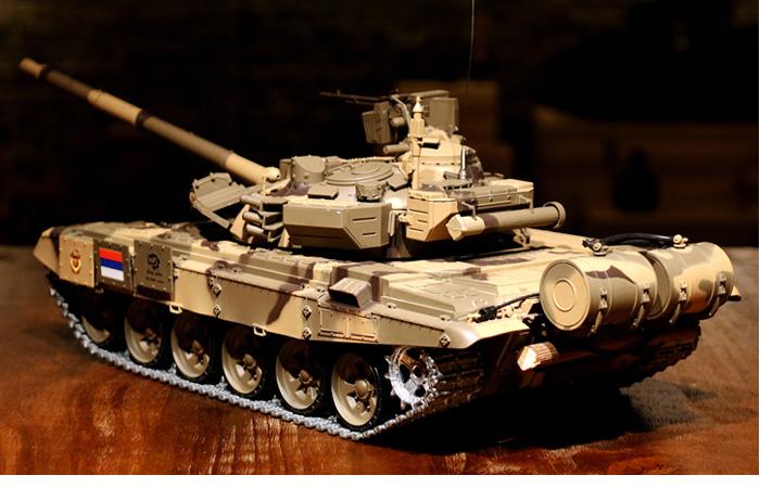 HENG-LONG Toys RC Tank 3938 Russia T90 Main Battle Tank 1/16 Scale Model Tank.