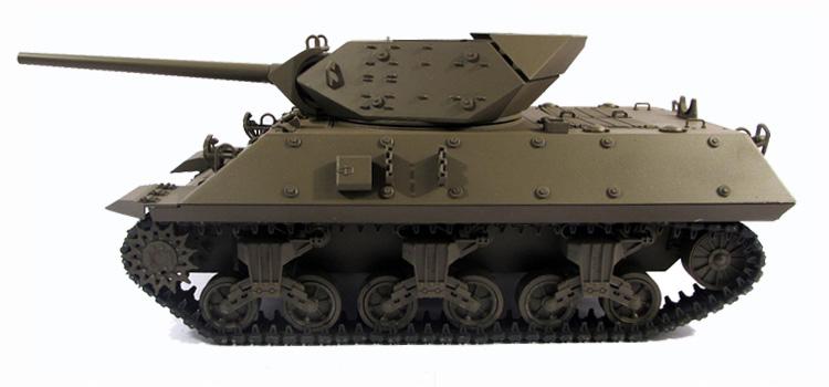 Mato Toys Full Metal RC Tank, Mato 1210 World War II America M10 Tank Destroyer RC Metal Tank.