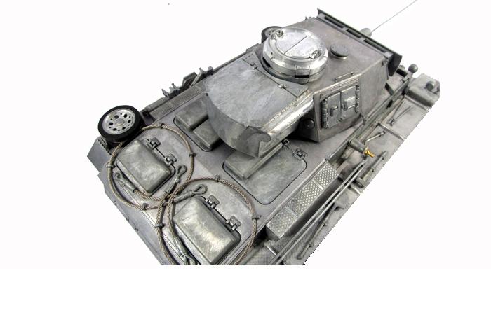 Mato Toys Full Metal RC Tank, Mato 1223-M World War II Germany Panzer III RC Metal Tank.