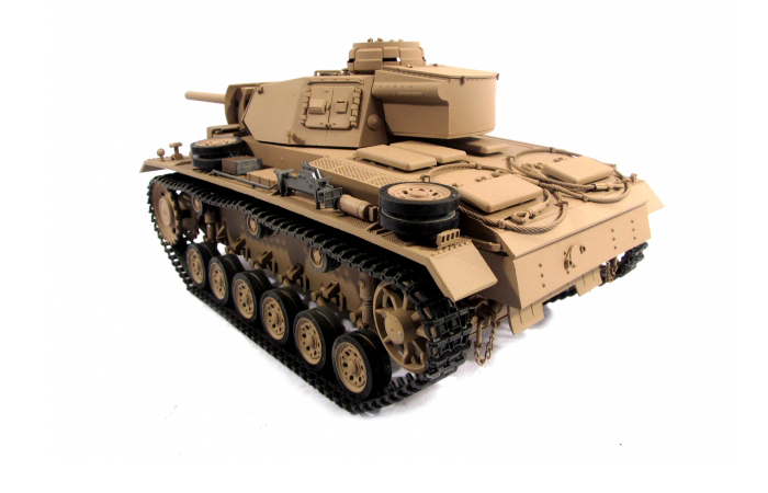 Mato Toys Full Metal RC Tank, Mato 1223-Y World War II Germany Panzer III RC Metal Tank.
