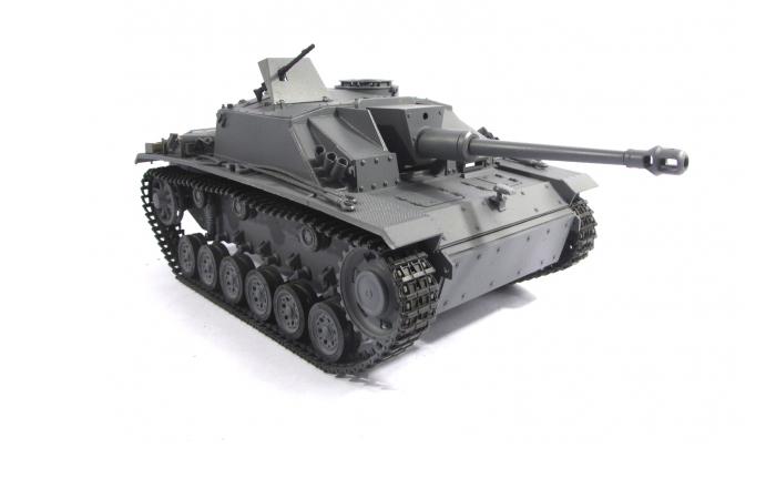 Mato Toys Full Metal RC Tank, Mato 1226-G World War II Germany Stug III RC Metal Tank.