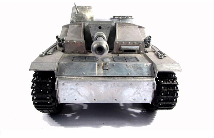 Mato Toys Full Metal RC Tank, Mato 1226-M World War II Germany Stug III RC Metal Tank.