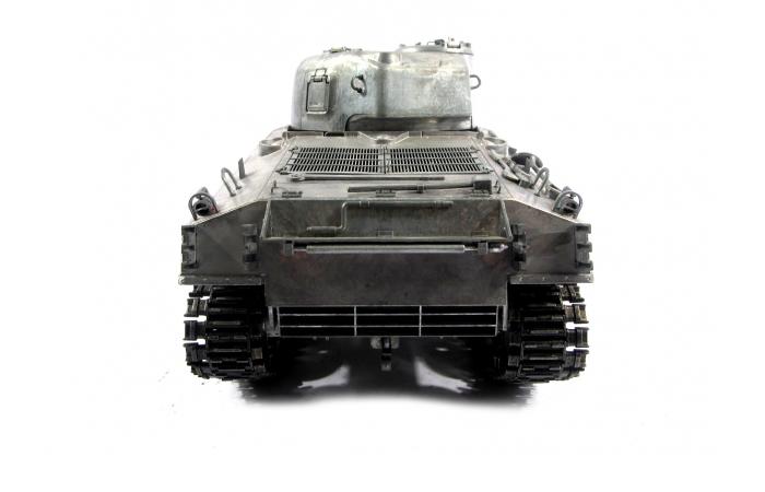Mato Toys Full Metal RC Tank, Mato 1230-M World War II USA M4A3(75)W Sherman RC Metal Tank.