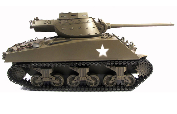 Mato Toys Full Metal RC Tank, Mato 1231-A World War II America M36B1 Tank Destroyer RC Metal Tank.