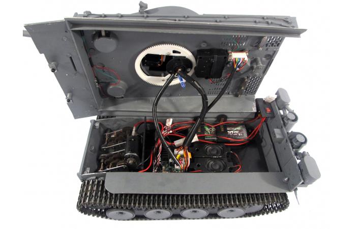 Mato Toys Full Metal Remote Control Tank, Mato 1220-G 1/16 Scale Tiger 1 RC Model Tank.